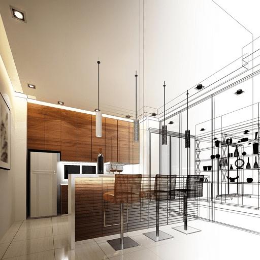 design your kitchen as an interior designer